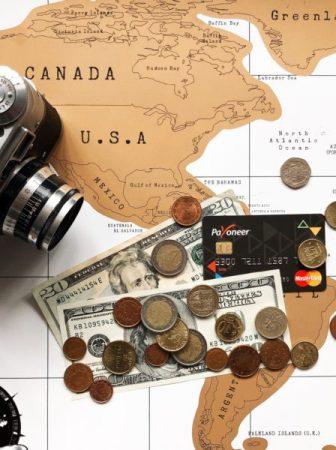курс доллара в Payoneer, курс евро в Payoneer